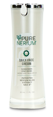 PURE Nerium Daily Face Cream and Moisturizer